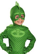 Pj Masks Gekko Deluxe Toddler Boy Character Green Costume Mask