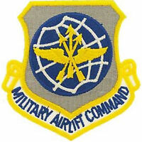 USAF AIR FORCE MILITARY AIRLIFT COMMAND MAC PATCH VETERAN AIRMAN