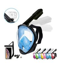 Foldable Full face Snorkeling mask with New Safety Breathing System sku D-9