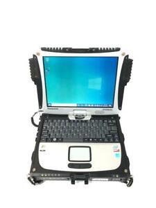 Panasonic Toughbook CF-19 Core 2 Duo U9300 1.20 GHz 4GB RAM 128GB SSD Win 10 Pro
