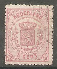 nederland  16 gestempeld  c.w.  €  100,00