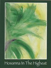 """*Postcard-""""Hosanna In The Highest"""""""