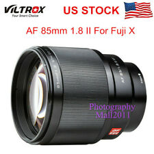 Viltrox 85mm F1.8 II STM AF Portrait Prime Lens for Fuji X-Mount PRO2 T30 Camera