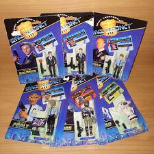 Vintage Gerry Anderson Space Precinct Action Figures x 6 1994 Sealed