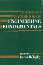 Eshbach's Handbook of Engineering Fundamentals, 4th Edition