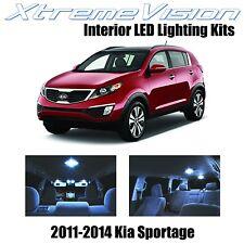 XtremeVision LED for KIA Sportage 2010-2014 (3 Pieces) Cool White Premium Interi