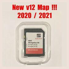 Tarjeta SD SEAT Navi System · Mapas v12 Europa 2020 / 2021 ·6P0 919 866 BK