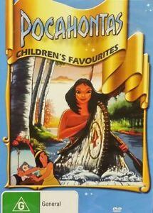 POCAHONTAS DVD G Rated Kids