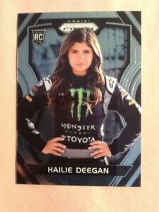 2018 NASCAR Prizm Racing Rookie Card Hailie Deegan # 30...New Out of Pack!!!