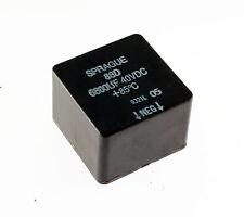 1x 6800uF 40V Plastic Case Plug-In Design Aluminum Capacitor DC 85C 6800mfd
