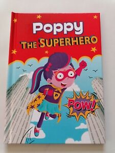 BEDTIME - FUNTIME - ANYTIME READING - POPPY - PERSONALISED - KIDS SUPERHERO BOOK