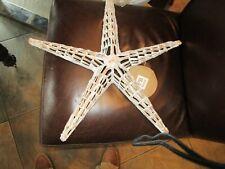 "Pottery Barn Teen Wicker  Starfish sea Critter 19""  New"