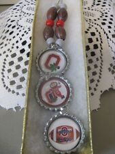 "1"" Bottle Cap Necklace ~ Buckeyes ~ **Gift Idea"