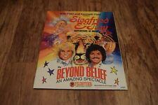 More details for siegfried & roy program superstars magic beyond belief frontier las vegas 1980s