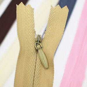 28 40 50 60 CM Invisible Zipper for purse or bags manufacture 10 colors DIY NO.3