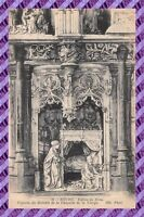 CPA 01 - BOURG - Eglise de BROU - Figures du retable de la chapelle de la vierge