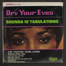 "BRENDA & TABULATIONS: dry your eyes DIONN 12"" LP 33 RPM"