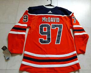 NWT! Adidas Edmonton Oilers Connor McDavid #97 Authentic Jersey Size 50 Medium
