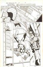 Marvel Adventures Spider-Man #27 p.8 Night Thrasher 2007 by Patrick Scherberger Comic Art