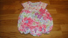 BOUTIQUE BABY LULU 12M 12 MONTHS GYPSY ROSE  ROMPER