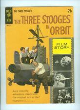 MOVIE COMICS: THE THREE STOOGES IN ORBIT (1962) GOLD KEY 30016-211 LARRY MOE