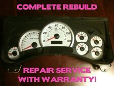 03-07 GM Hummer H2 Instrument Gauge Cluster FULL REPAIR SERVICE 04 05 06