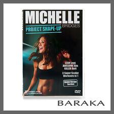 Michelle Bridges: Project Shape-Up! DVD R4 Sculpt Workout Fitness
