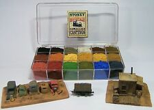 SMC-903  O-Scale  18 Color Aging & Weathering Kit w/Paint Tray & Instructions