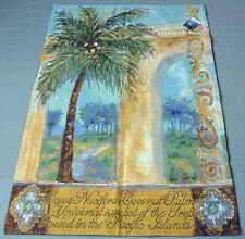 Coconut Palm ~ Palm Tree Grande Tapestry Wall Hanging