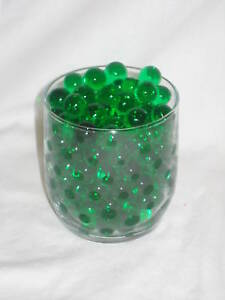 WATER BEADS / WATER STORING GEL CRYSTALS / ROUND EXPANDING WATER JELLY BALLS