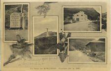 Moncenisio Frontiera - Vedutine - Viaggiata 1933 Bollo Giochi Universitari