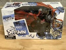 The Art Of Spawn vs Cy-Gor 2004 Series 26 McFarlane Toys New Sealed #57 Cover