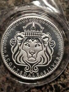 Scottsdale Mint Reserve 2020 1 Troy Oz Round .999 Fine Fine Beauty!!