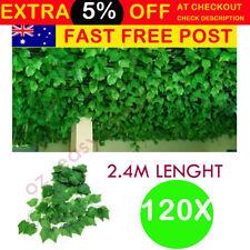 120X2.4M Artificial Ivy Leaf Vine Plant Garland Fake Foliage Green Wedding Party