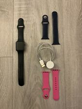 Apple Watch Series 3 38mm Space Grey Case With Black Sport Band - GPS & Cellular