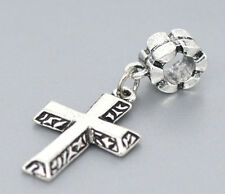 Cross charm  christian charm fits European bracelet and necklace  best gift