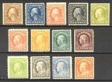 U.S. #503/516 Mint - 1917 4c - 30c Washington ($225)