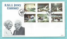 Jersey Channel Islands First Day Cover FDC 1984 RNLI Centenary Lifeboats Boats