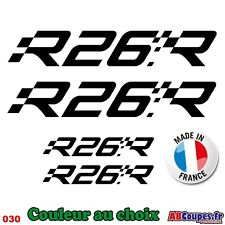 Stickers Autocollants Renault Sport R26R 20cm - Clio megane twingo R26 - 030