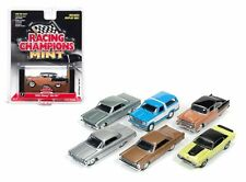 AUTO WORLD 1:64 RACING CHAMPIONS MINT RELEASE 2 VERSION B DIECAST CAR SET RC002B