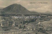 PERU LIMA CON EL CENTRO SAN CRISTOBAL ED. NARANJO Y CIA 15529