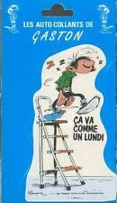 Franquin autocollant Gaston Lagaffe 1990 (6)