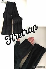 FIRETRAP LADIES ELBOW SLEEVE OPEN FINGER GLOVES MITTENS BRAND NEW WITH TAGS