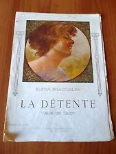 Elena Braccialini LA DETENTE valse de salon C. F. Bodro Editore - Genova