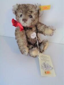 Steiff 1936 Antique Reproduction Miniature Teddy Bear 029271 New Tags Historical