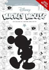 Art Of Coloring: Mickey Mouse And Minnie Mouse 100 Images To Inspire Creativi...