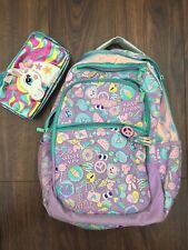 Girls Smiggle backpack and pencil case
