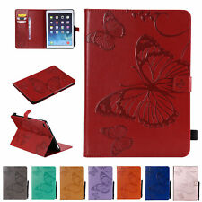 "Butterfly Leather Smart Wallet Case Cover for iPad 2 4 5/6th Gen 9.7""/Pro/Mini"