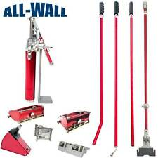 "Level5 Drywall Finishing Set w/7 & 10"" Boxes, Angle Head & Box, Roller, Pump"