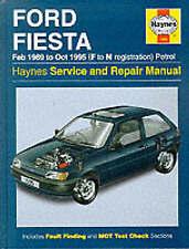 Ford Fiesta Paper Car Service & Repair Manuals